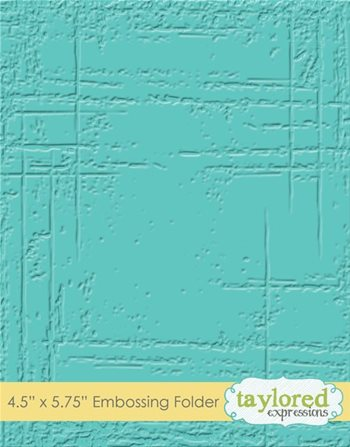 Embossing Folder - Weathered