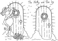 Clear Stamp - The Holly and The Ivy