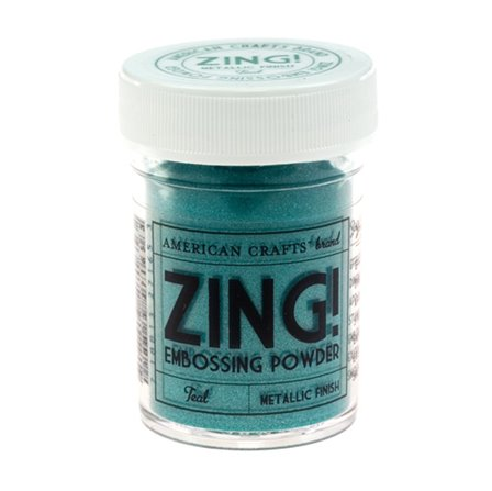Poudre à Embosser ZING - Metallic Teal