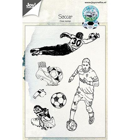 Clear stamps - Soccer