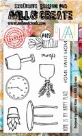 Clear Stamps-A6-#409-Home