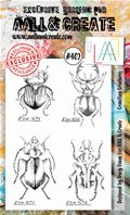 Clear stamp-A6-#402-Crawling Creatures