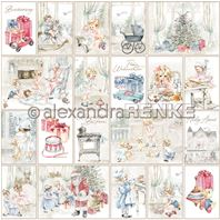 Papier - Christmas Kids - Card Sheet