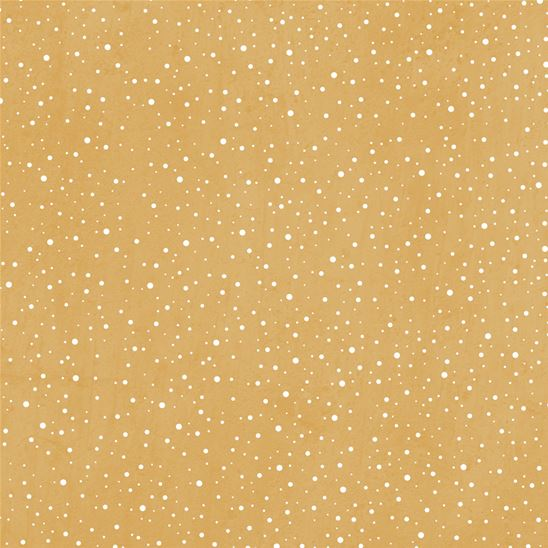 Papier - Snow flurry mustard yellow