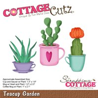 Cottage Cutz - Teacup Garden