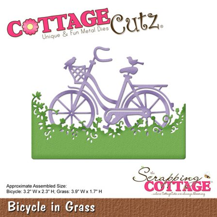 Cottage Cutz - Bicycle in Grass