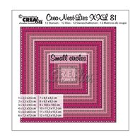 Crea-Nest-Lies-XXL - Squares with small circles