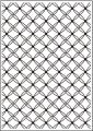Classeur gaufrage A4 - Fancy Lattice