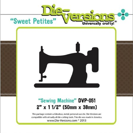 Die-versions - Sewing Machine