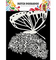 Dutch Mask Art - Butterfly A5