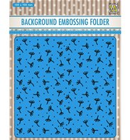 Embossing Folder - Background - Fluff