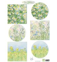 Papier à découper - Tiny's Flower Meadow 1