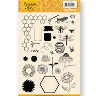 Clear stamp - Buzzing Bees