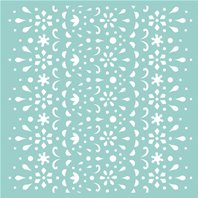 Mask 30 x 30 - Template Lace