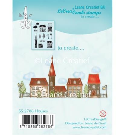 Clear Stamp - Houses