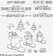 Clear Stamps - Ready, Set, Snow