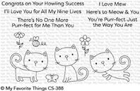 Clear Stamps - Purr-fect