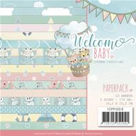 Paper pack - Welcome Baby -