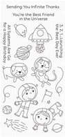 Clear Stamps - Best Friends in the Universe