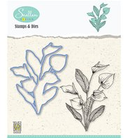 Stamp & die - Set Flowers Anthurium