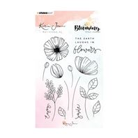 Clear stamp - Blooming - 02