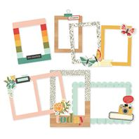 Chipboard Frame - Hello Today