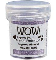 Wow! Embossing Powder Glitter -Sugared Almond